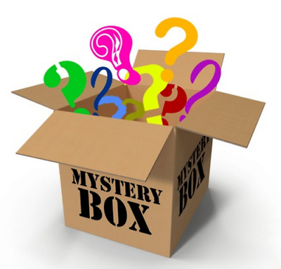 Surprising BOX ! Mysterious Electronics,Clothing,Consoles,Games,DVDs,Toys,Park