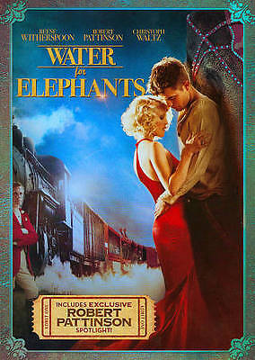 Water for Elephants - Reese Witherspoon (DVD, 2011)