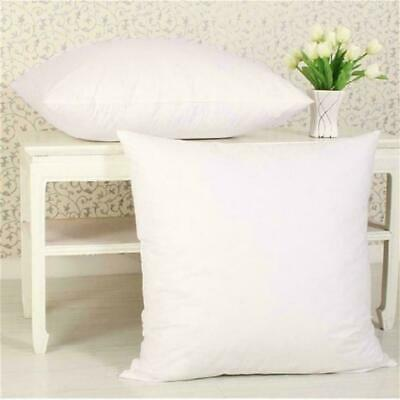 Pillow Core Cushion Pads Inner Insert Filler Scatter Duck Feather Microfibre Hig
