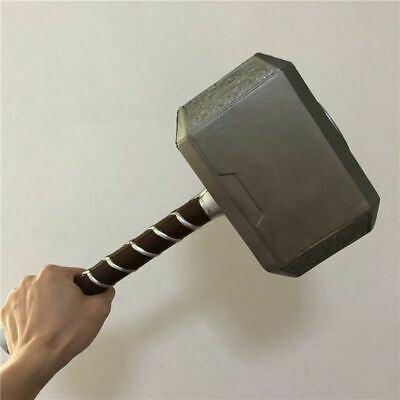 Hammer Thor Avengers Cosplay Mjolnir Replica Prop Resin Base Full Us Stand Toy