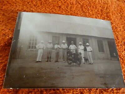 ancienne photo - coloniaux 1928 -