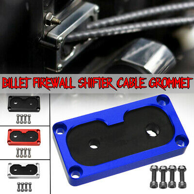 Billet Firewall Aluminum Shifter Cable Guard Grommet K-Swap For Honda Civic K20