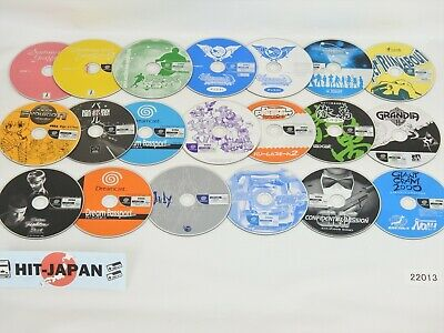 Lot of 20 Dreamcast Sega CD Only JAPAN Game Ref/22013 dc