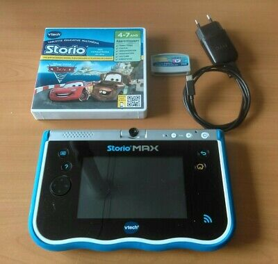 Lot Storio Max 5 Vtech Tablette éducative 5 Bleu Noir Gris