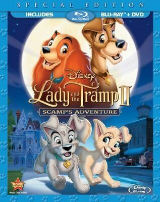 Lady and the Tramp II: Scamps Adventure (Blu-ray/DVD, 2012, 2-Disc Set)