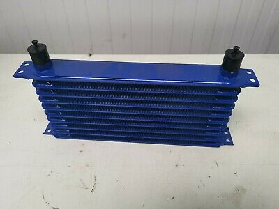 Blue Car Oil Radiator
