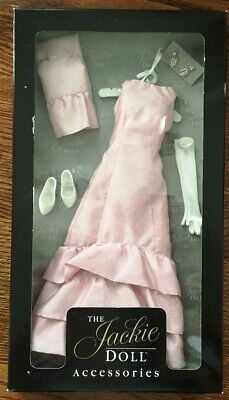 The Franklin Mint - *NIB* The Jackie Doll Accessories, Pink Dinner Gown Ensemble