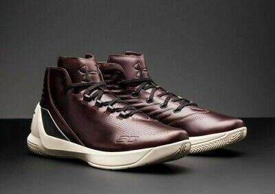 cheap for discount aba1d cf8ea UNDER ARMOUR CURRY 3 Lux Limited Edition Leather Basketball ...