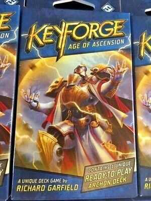 KeyForge - Age of Ascension - Factory Sealed   -=FREE KEY TOKENS=-