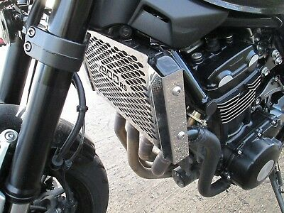 Kawasaki Z900 RS & Cafe (18>) Stainless Steel Beowulf Radiator Guard - Polished