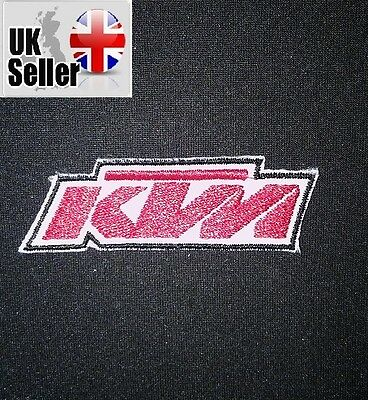 KTM Iron-on/sew-on Embroidered Patch Motorcycle Biker motorcross
