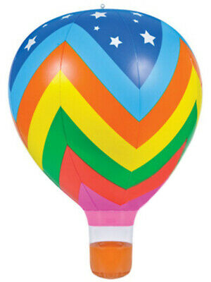 "22"" ZigZag Inflatable Hot Air Balloon Toy Decoration"