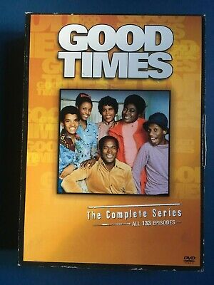 Good Times - The Complete Series (DVD, 2008, 17-Disc Set) USED COMEDY, CLASSIC