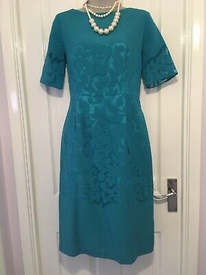 Teal Green special occasion Party dress  30s 40s 50s Vintage Vibe Cruise  10