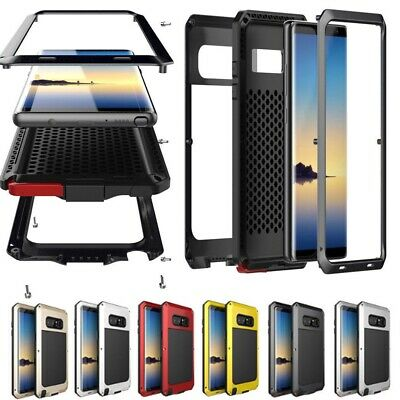 Shockproof Case Waterproof Metal Aluminum Armor Cover For Samsung S10 S9 Note 10