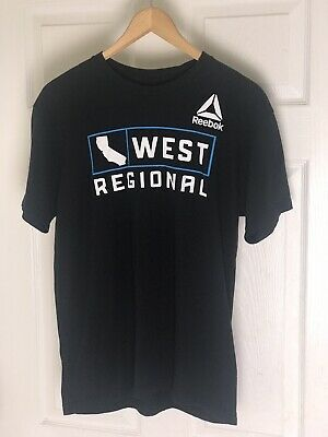2d9b5131 REEBOK CROSSFIT GAMES 2018 Tee T Shirt Mat Fraser Mens Medium M Nwt ...