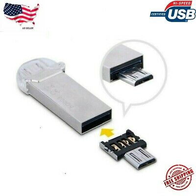 Micro USB Male to USB Female OTG Adapter Converter For Android Tablet Phone