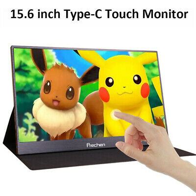 15.6-inch T-bao Portable LED Monitor 1920x1080 HD IPS with Leather Case B5T1