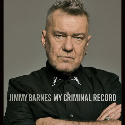 JIMMY BARNES - My Criminal Record Standard Edition CD *NEW* 2019
