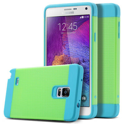 ULAK Dot Hybrid Rugged PC TPU Case Cover w/ Stylus For Samsung Galaxy Note 4