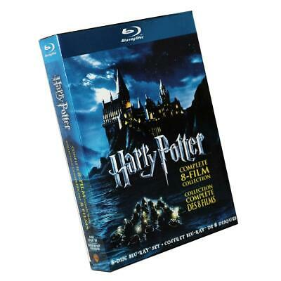 Harry Potter 1-8 Movie DVD Films Box Set Complete 1-8 Film Collection New Sealed
