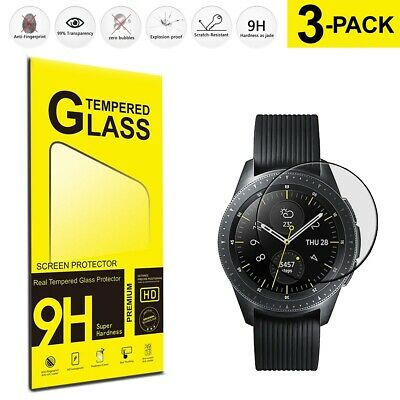 Samsung Galaxy Watch 42mm (3-Pack) Tempered Glass Phone Film Cover Guard