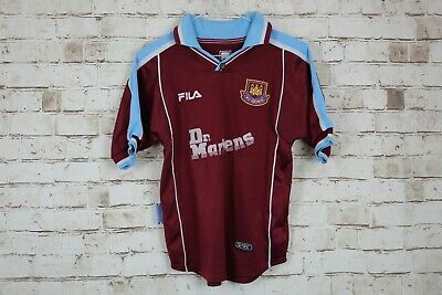 Fila West Ham United Football Top Size LB