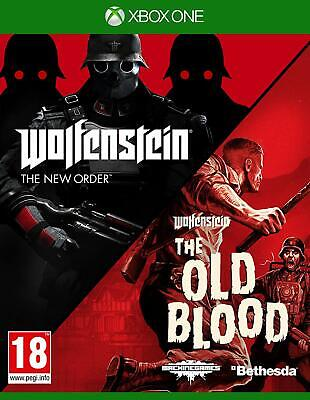 NEW & SEALED! Wolfenstein The New Order & The Old Blood Microsoft XBox One Game