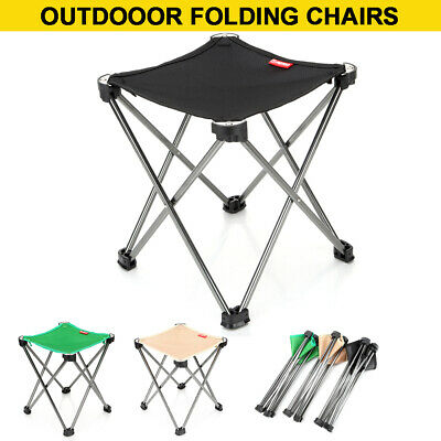Folding Camping Chair Outdoor Beach Ultra-light Portable Foldable Fishing Chairs