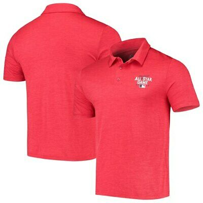 Majestic Red 2019 MLB All-Star Game Striated Polo