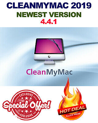 Cleanmymac X 4.4.1 - Latest Version 2019 - Make Your Mac Fast - Instant Delivery