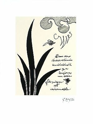 Dans Deux Choses by Georges Braque Art Print 1993 Cubism Poster 23.5x17.75
