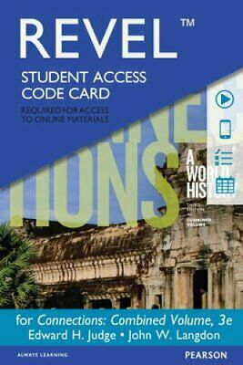 Revel -- Access Card -- For Connections: Combined volume A Worl... 9780133940367