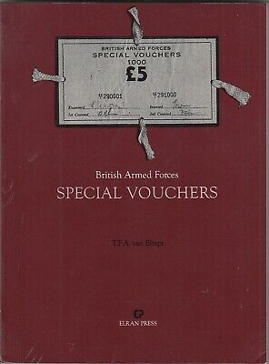 BRITISH ARMED FORCES SPECIAL VOUCHERS by Theo Van Elmpt NAAFI