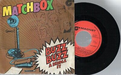 MATCHBOX - Buzz Buzz A Diddle It / Everybody Needs A Little Love, SG SPAIN 1980