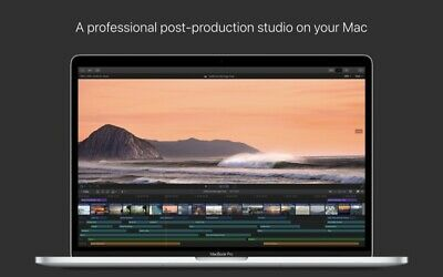 Final Cut Pro X 10.4.6 – Professional video editing solution. Lifetime license