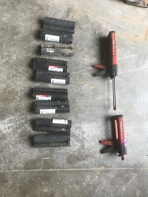 HILTI MD 2500, MD 2000 2-Part Adhesive Dispensers & 9 MD 2500 Cassettes