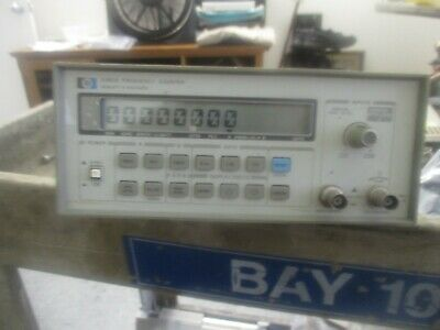Hewlett Packard Model: 5385A Frequency Counter.  Cal Due: January, 2020  <
