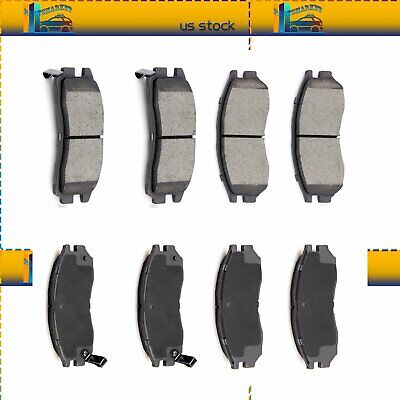 MD484 FRONT SEMI-METALLIC Brake Pad For (Coupe) Chrysler