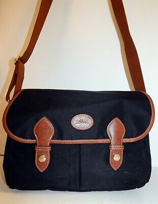 35bedec49f LONGCHAMP MOCHA BROWN leather Cavalier Crossbody Bag Style ...