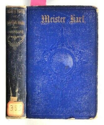 1855 antique ORIG. 1stED MEISTER KARL'S SKETCH-BOOK leland OWNED:KNEEDLER phila