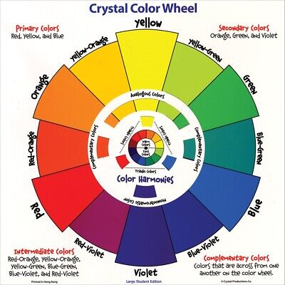 Crystal Large Student Color Wheel by Crystal Productions