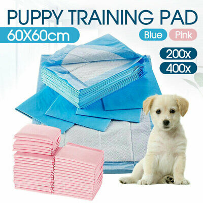 60x60cm Puppy Pet Dog Indoor Cat Toilet Training Pads Super Absorben AU Stock