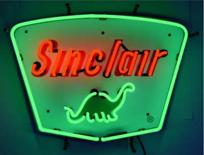 "New Sinclair Dino Gasoline Neon Sign Beer Bar Pub Gift Light 20""x16"""
