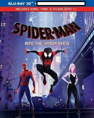 Spider-Man Into the Spider-Verse(3D)+The Lego Movie 2(3D) 2in1 offer only bluray