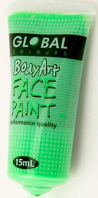 FLOURO GREEN - FACE & BODY PAINT - 15ml Tube