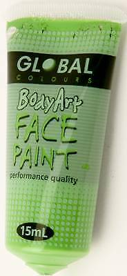 LIGHT GREEN - FACE & BODY PAINT - 15ml Tube