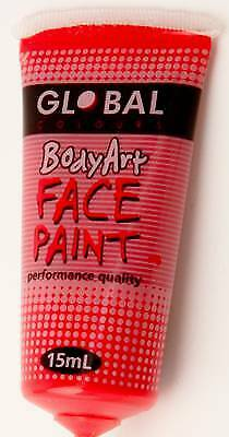 BRILLIANT RED - FACE & BODY PAINT - 15ml Tube
