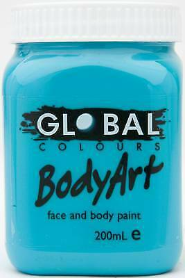 TURQUOISE - FACE & BODY PAINT - 200ml Jar