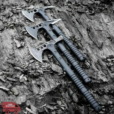 Stainless Steel Axe Fire Army Tactical Tomahawk Outdoor Survival Hatchet Camping